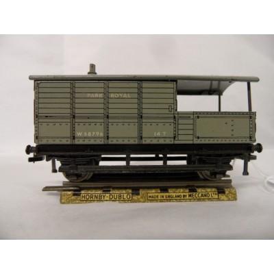 Hornby Dublo Goods Brake van - British Rail Western region.