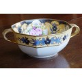 Noritake Handled Bowl - roses and flowers
