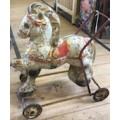 Tin Plate Toy Horse circa 1960's