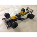 Onyx Williams Renault FW14 Nigel Mansell scale model formula one car