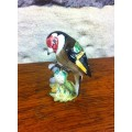 Beswick Goldfinch small ceramic bird