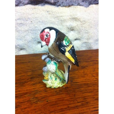 Beswick Goldfinch small ceramic bird