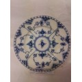 Royal Copenhagen Blue Fluted half lace plate