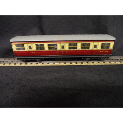 Hornby Dublo Corridor Coach - 1st/3rd class - printed windows