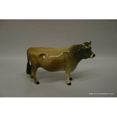 "Beswick Bull - ""Coy Boy"" designed by C.H. Dunsley"