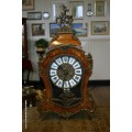 Ornate Mounted Clock in Victorian Rococo Style