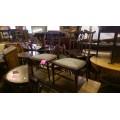 Pair of Inlaid Mahogany Bedroom Chairs