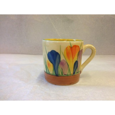 Clarice Cliff Autumn Crocus Demitasse/Coffee Cup
