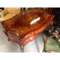Serpentine Louis XV Revival Style Partners Desk