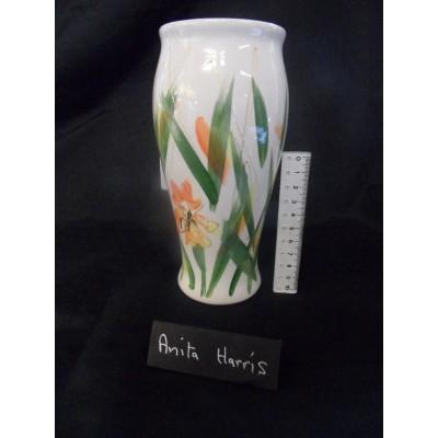 """Anita Harris vase-  """"Cottage Garden"""""""