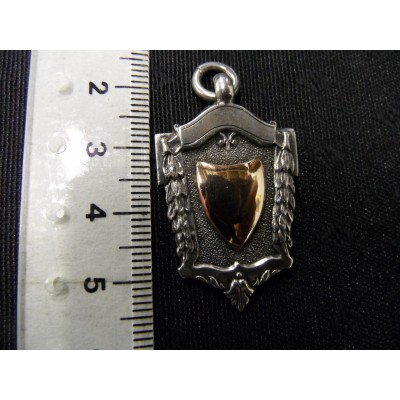 Silver Fob for watch chain